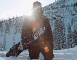 Bryan Iguchi Snowboarding for Arbor