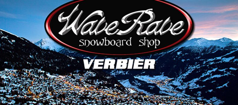 Wave Rave opening a shop in Verbier Switzerland